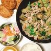 簡単レシピ 豚こま切れ肉とナスのマヨ生姜焼き