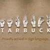 気がつけば多様性ある社会 手話が共通言語のスターバックス