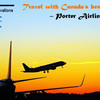 Travel with Canada's best Airlines – Porter Airlines