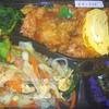味処「なかゆくい」の「チキンライス弁当」(麩チャンプル) 300円 #LocalGuides