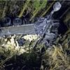 小銃弾42万発積んだトラック転落、自衛官死亡
