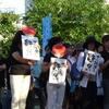 戦争法案を強行採決−熊本で5党合同演説