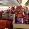 香港航空ビジネスクラスBKK→HKG、「Club Autus」でシャワー-バンコク旅行⑰