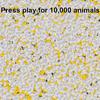 【Unity】ECS を利用して 10,000 体のスプライトを描画するサンプル「ecs-instanced-sprite-renderer」紹介