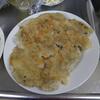 幸運な病のレシピ( 425 )夜:餃子焼いた、焼き肉、サラダ、ビール(連日)