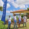 ユナイテッド航空、グアム政府観光局などと提携してマタパンビーチパークパビリオンを改装