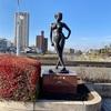 かすかべで彫刻を見てみよう(4)『ジーンズ・夏』