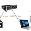 【図解】電子ピアノを綺麗に雑音なく録音する方法!オーディオインターフェースの使い方!