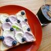 フォトジェニックなウェーブトーストレシピ【ブルーベリー×クリームチーズ】