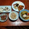幸運な病のレシピ( 2418 )朝:牛肉と麩とカボチャ、宗八カレイ