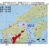 2016年12月24日 18時41分 周防灘でM2.6の地震