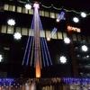 米沢電気工事のクリスマスイルミ