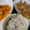 白菜大根味噌煮込み、かぼちゃ焼き、白和え
