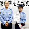 AKB48チーム8髙橋彩音さん、吉川署の一日警察署長に就任 制服姿で埼玉の交通安全を呼び掛け