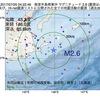 2017年07月25日 04時22分 根室半島南東沖でM2.6の地震