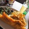 ロンドンで一番美味しい !Fish & Chips! Golden Chippy で大きなフィッシュアンドチップスを。【グリニッジ】