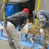 新築戸建て注文住宅の施工(外壁塗装の様子(続き))