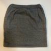 既製品のスカートを分解して、型紙を取った