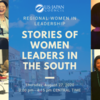 Regional Women In Leadership: Stories of Women Leaders In the South (Virtual Event)に参加してみました
