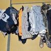 着なくなった衣類を捨てました。