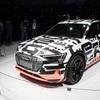 ● アウディ初の市販EVはSUV!Audi e-tronのプロトタイプ 【ジュネーブ・ショー】