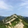 下山をためらう北アルプスのツバメ燕岳(後半)
