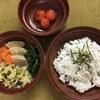 【幼児食】1歳6ヶ月、1週目の記録:新潟の実家に帰省。父の減塩メニューをそのまま展開。