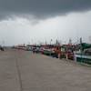 パタヤの桟橋釣り。 @タイ
