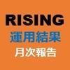 5月 RISINGツール運用結果 仮想通貨自動売買