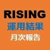 10月 RISING&RISING-lightツール運用結果 仮想通貨自動売買