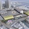 横浜本場青果部再整備進む‐新たに三棟の物流施設