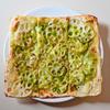 「レンコンのジェノベーゼ・ピザ」のご紹介