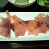 信州鯉のあらいと車中泊料理向きな鮭のホイル焼き・・・