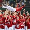 広島がリーグ優勝 25年ぶり7度目
