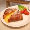 孔徳 チーズとろ〜りベーコントースト@S.WELL CAFE