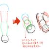体のパース練習
