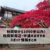 【目的別】秋田駅前のおすすめスポット25選【駅から徒歩15分以内】
