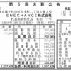 ENECHANGE株式会社 第5期決算公告