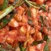 カクテキ(大根のキムチ)作り