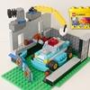 レゴ:パトカーと車庫の作り方 LEGOクラシック10698だけで作ったよ (オリジナル説明書)