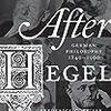 ショーペンハウエルへの抵抗としての新カント派 Beiser, After Hegel, #3