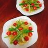 持ち寄りパーティーにおすすめ!夏野菜のジュレサラダとブルーベリーヨーグルトムース