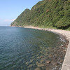 井田海岸で今年最初で最後の素潜り