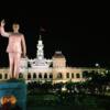 【ベトナム】夜のホーチミン市人民委員会庁舎に行ってきた