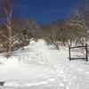 登山学校実技講座 雪山 那須岳