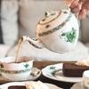 【ヘレンド・アポニーグリーン】高級食器ヘレンドで貴族気分を味わってみた。