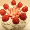 ストロベリーケーキを作ってみました ~花粉症、新型コロナウイルスを避けて引き籠り気味~