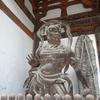 【写真加工】石山寺/金剛力士像の修復