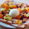 シナモクラブ会員様限定「6月フルーツとレモンソルベのピザ」のご紹介