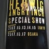 「HEDWIG AND ANGRY INCH SPECIAL SHOW」